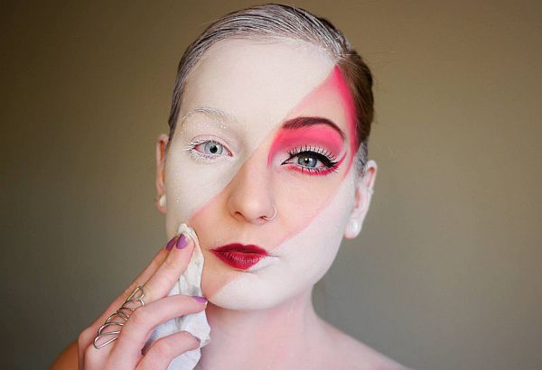 15 Creative Halloween Makeup Tutorials by Elsa Rhae.