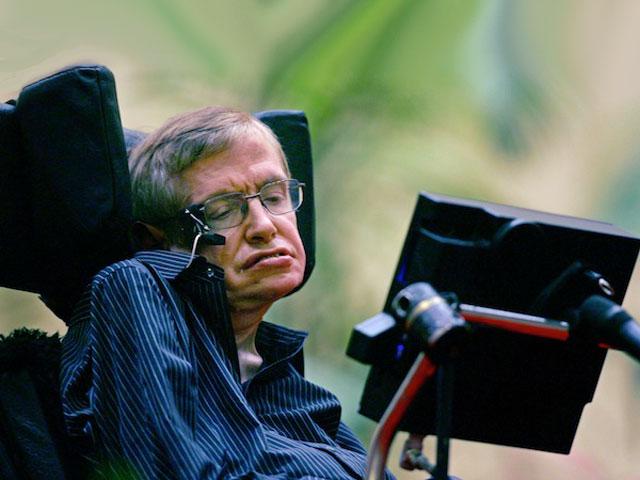 Stephen Hawking does the ALS Ice Bucket Challenge