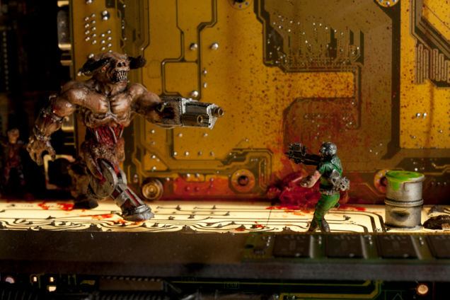 Must Have Doom II Final Level Sculpture Worth $6000