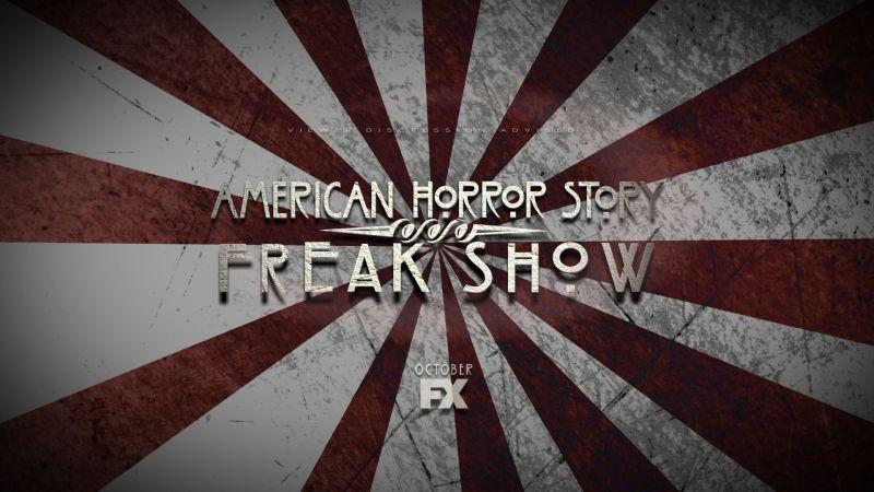 """""""American Horror Story: Freak Show"""" Poster (via FX)"""