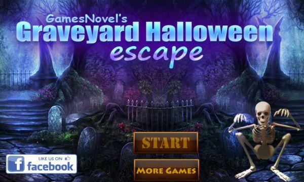 Free Online Game: Graveyard Halloween Escape