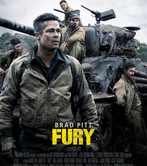Brad Pitt's 'Fury' Beats 'Gone Girl' At the Box Office