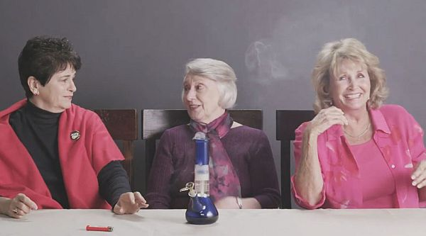 Will Your Grandma Smoke Weed for the First Time on YouTube?