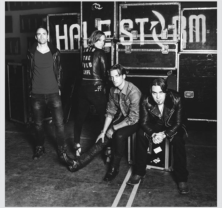 Halestorm Releases New Single Titled Apocalyptic and Strange Album Title
