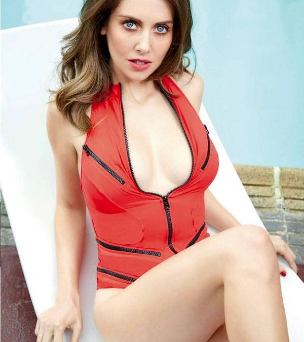 Alison Brie Is Smoking Hot in GQ Mexico's March Issue