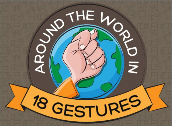 Infographic – The Most Offensive Gestures From Around The World