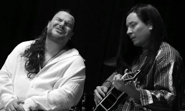"Cheer up Monday with this ""More Than Words"" Rendition by Jack Black and Jimmy Fallon"