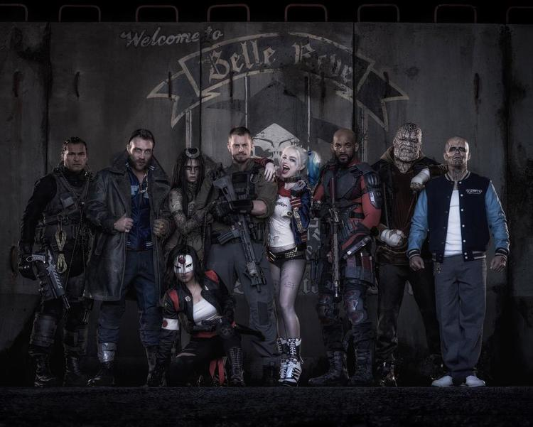 First Suicide Squad Movie Image With 9 Members Revealed