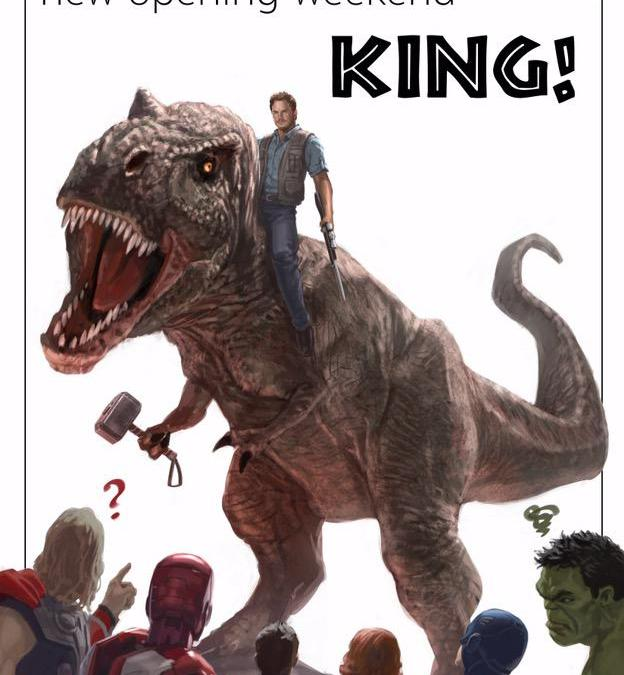 Marvel Congratulates Jurassic World Being The New Box Office King