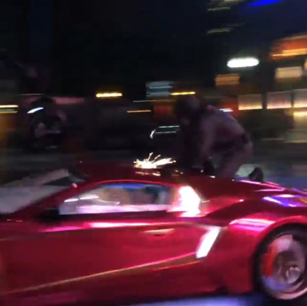 Video: Batman Battles the Joker and Harley Quinn on 'Suicide Squad' Set