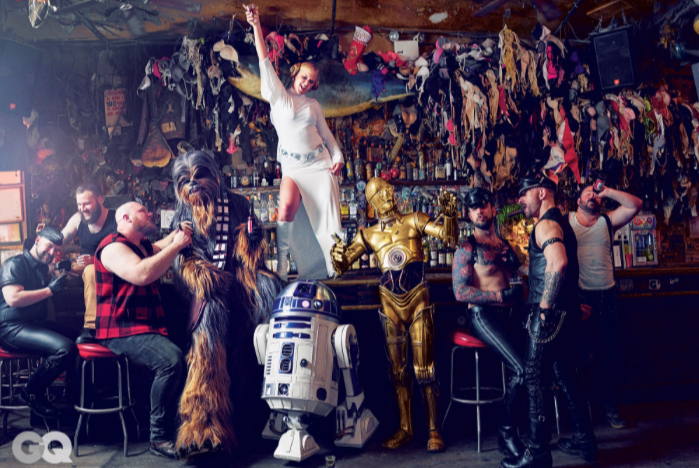 Sexy Amy Schumer And Star Wars GQ Photo Shoot