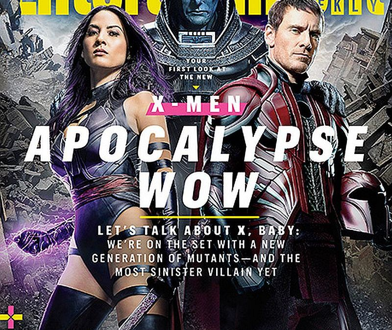 Psylocke, Apocalypse and Other Mutants Unveiled in New Official 'X-Men: Apocalypse' Pics