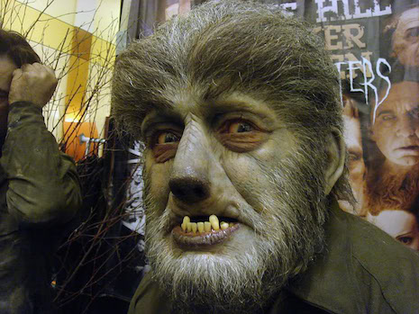 Mike Hill Life Size Sculptures wolfman 2