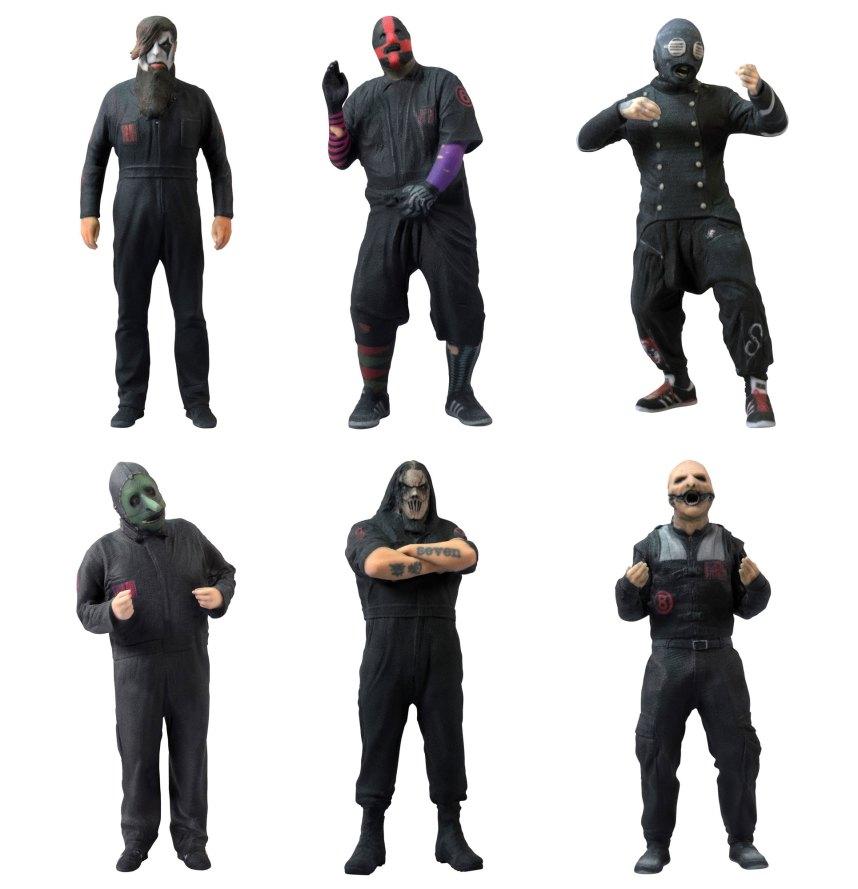 Slipknot figurines 1