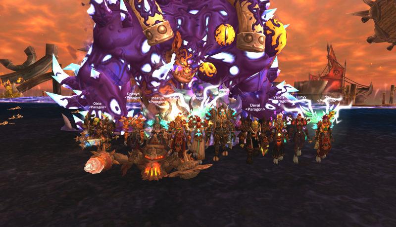 World of Warcraft Elite Guild Paragon Calls It Quits