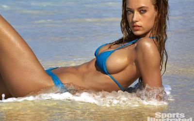 Must See  Entire Sexy Hannah Ferguson Swimsuit High Def Gallery