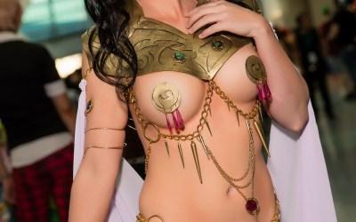 Cosplay Hottie Jackie Goehner Returns as Sexy Vampirella and Princess of Mars