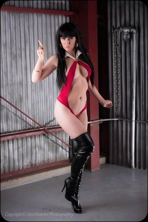 Jackie Goehner Cosplay Sexy 2016 Vampirella 2