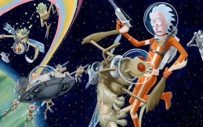 Cool Stuff: Gallery 1988's 'Rick and Morty' Artwork Gets Schwifty
