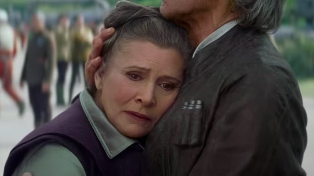 Two Key General Organa Scenes in STAR WARS: EPISODE VIII and EPISODE IX Revealed
