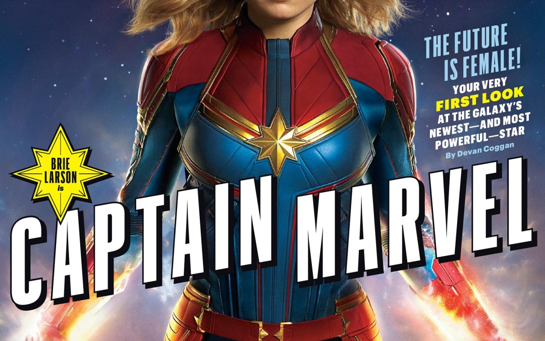Captain Marvel Movie – First Look at Brie Larson as Carol Danvers, Nick Fury and Skrulls