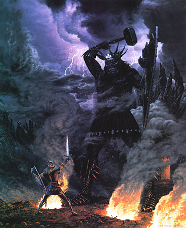 Lord of the Rings fact – Fingolfin vs Morgoth
