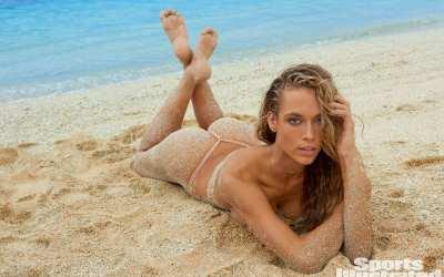 The Sexy Hannah Ferguson 2014 body paint HD photos