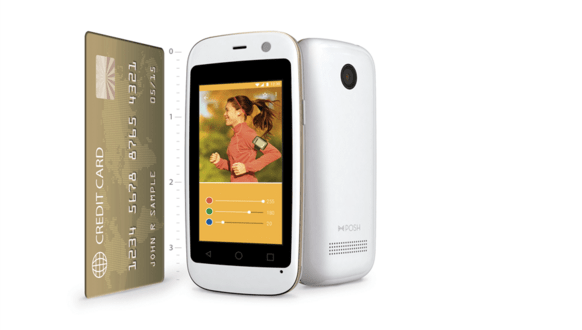 Micro X S240 : World Smallest Android Smartphone in Credit Card Size