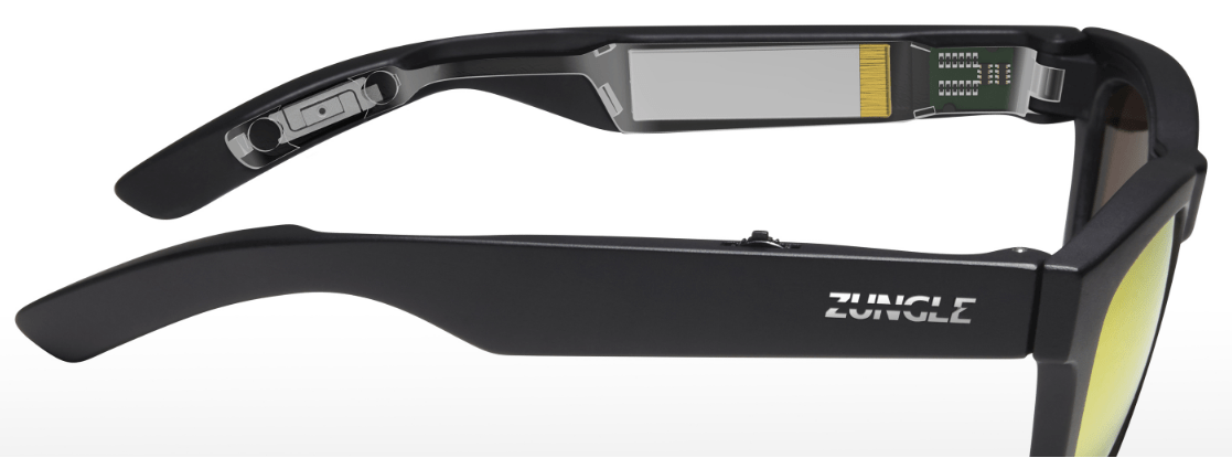 Zungle Sunglasses With Bone Conduction Speakers
