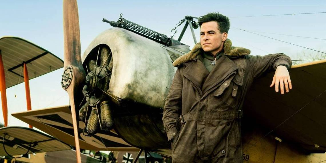 Chris Pine's Steve Trevor in Wonder Woman