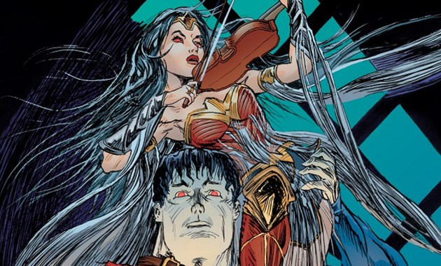DC House of Horror superman and wonder woman