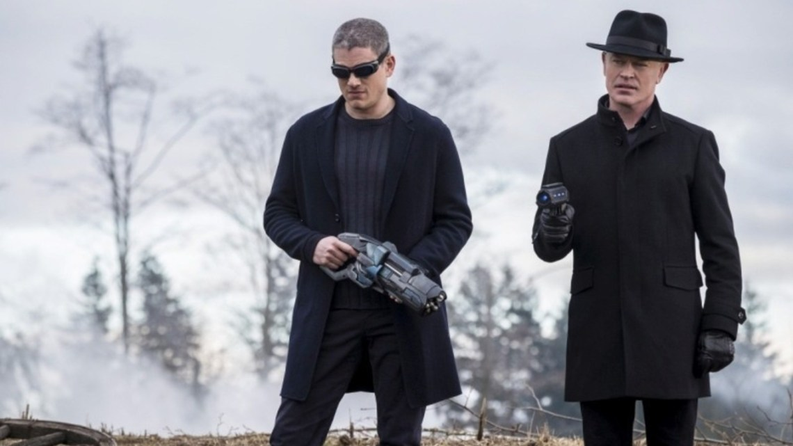 Legends of Tomorrow Captain Cold and Damien Darhk