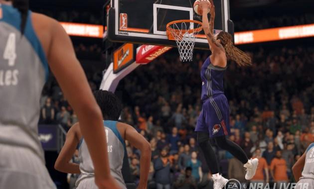 WNBA in NBA Live 2018