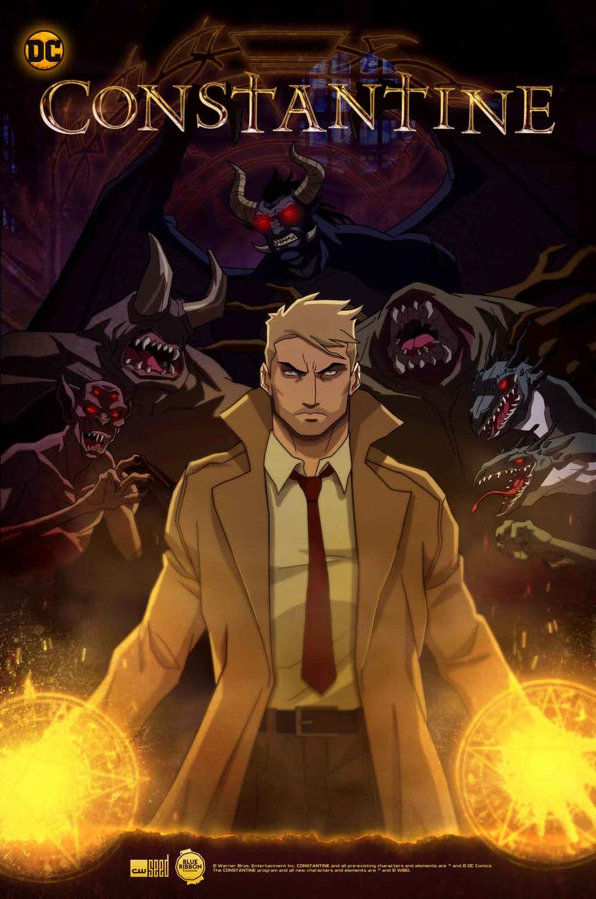 Constantine anmiated series art