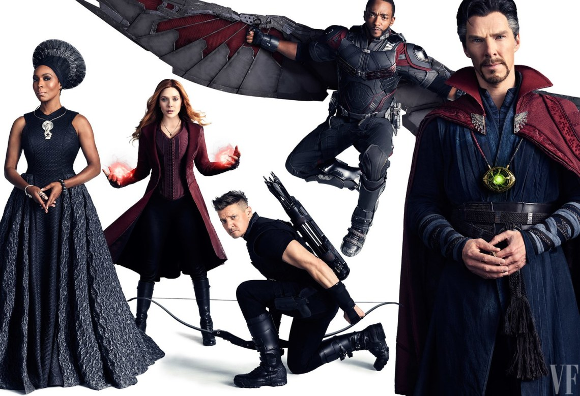 scarlet witch-hawkeye-doctor strange