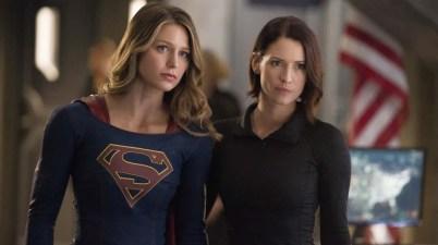 Supergirl and Alex Danvers