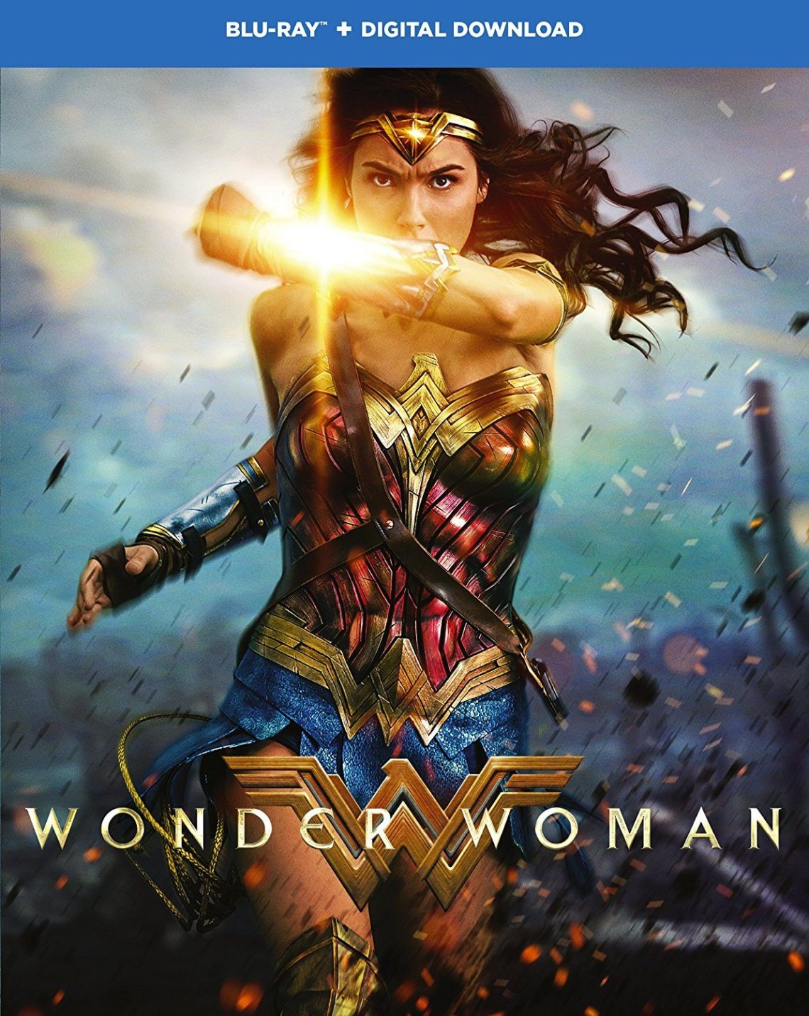 Wonder Woman Blu-ray box art Courtesy of Warner Bros.