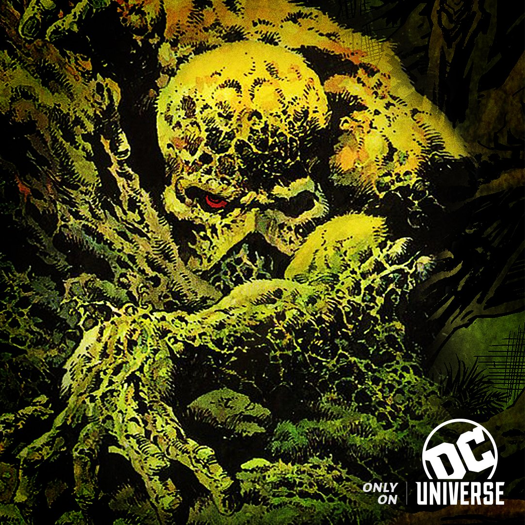 Swamp Thing key art