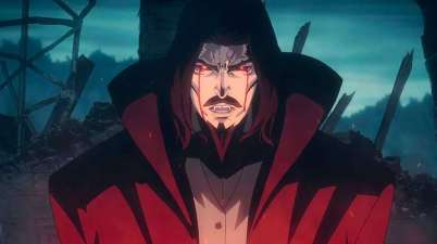 Dracula in Castlevania Courtesy of Netflix