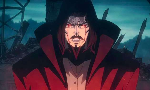 Dracula in Castlevania Courtesy of Netflix