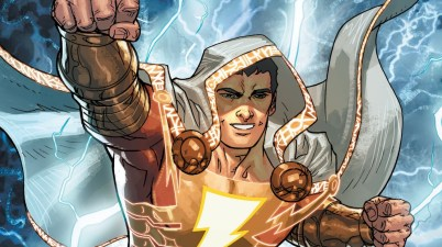 Shazam! Courtesy of DC