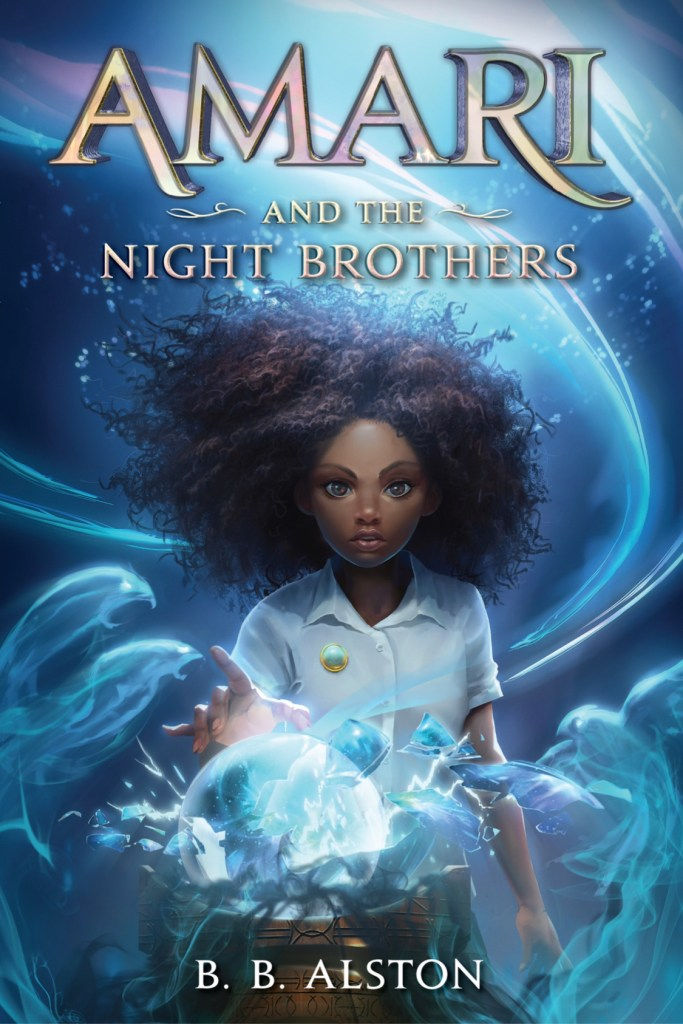 Amari and the Night Brothers - Cover