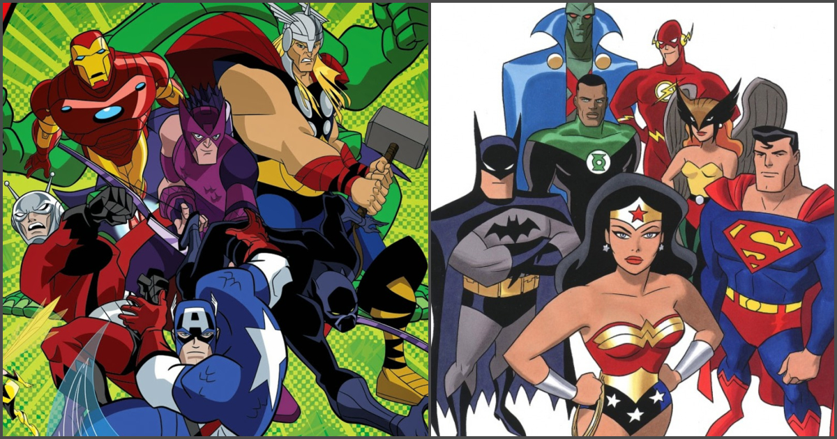 8 Superhero Cartoon Remakes That Are Better Than The Original