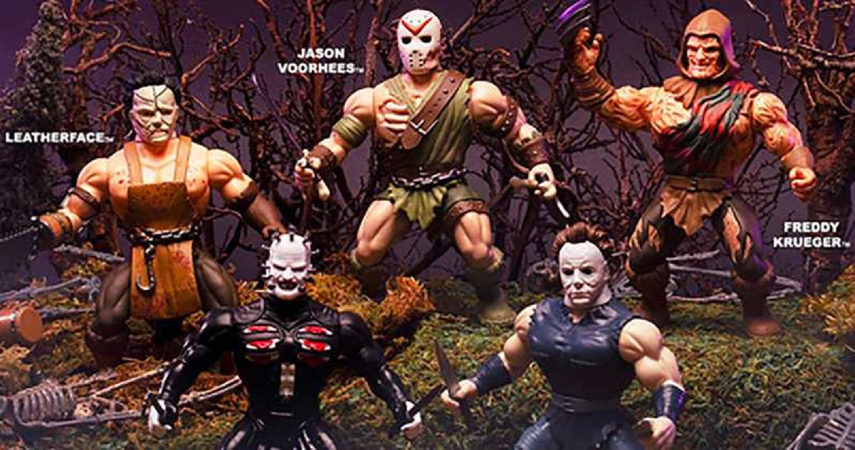 Funko Presents Muscular He-Man Style Horror Action Figures