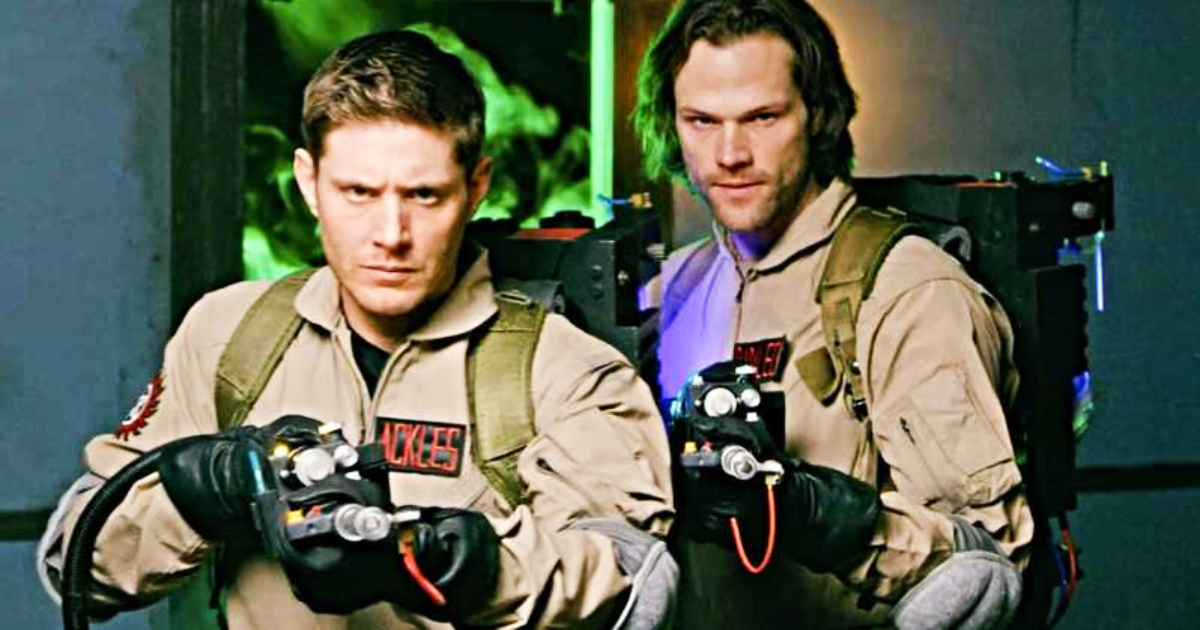 Check Out This Fabulous Supernatural Mashup Featuring The Winchesters As Ghostbusters