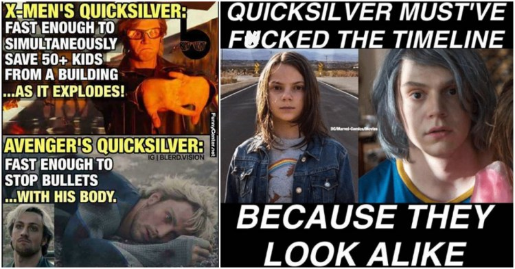 25 Quicksilver vs Quicksilver Memes That Prove How X-Men ...