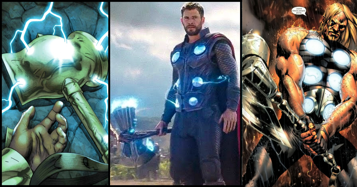 Hammered: 7 Mightiest Hammers Of Thor