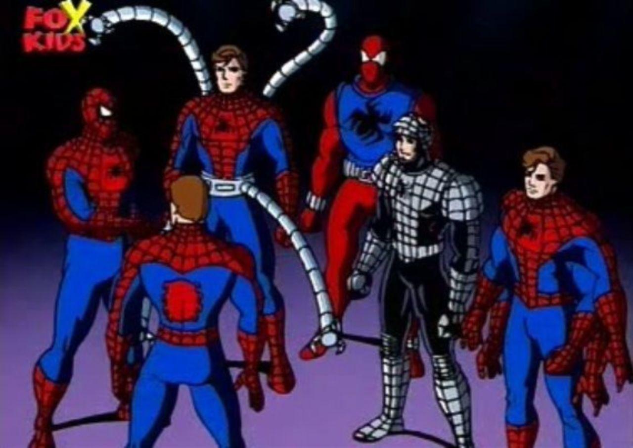 Resultado de imagen para spiderman 90's spiderverse