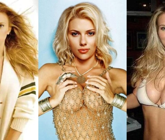 Sexy Scarlett Johansson Boobs Pictures Will Drive You Wildly
