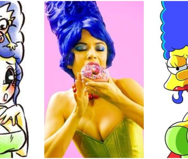 Marge Simpson Sexy Pictures Uncover Her Awesome Body Geeks On